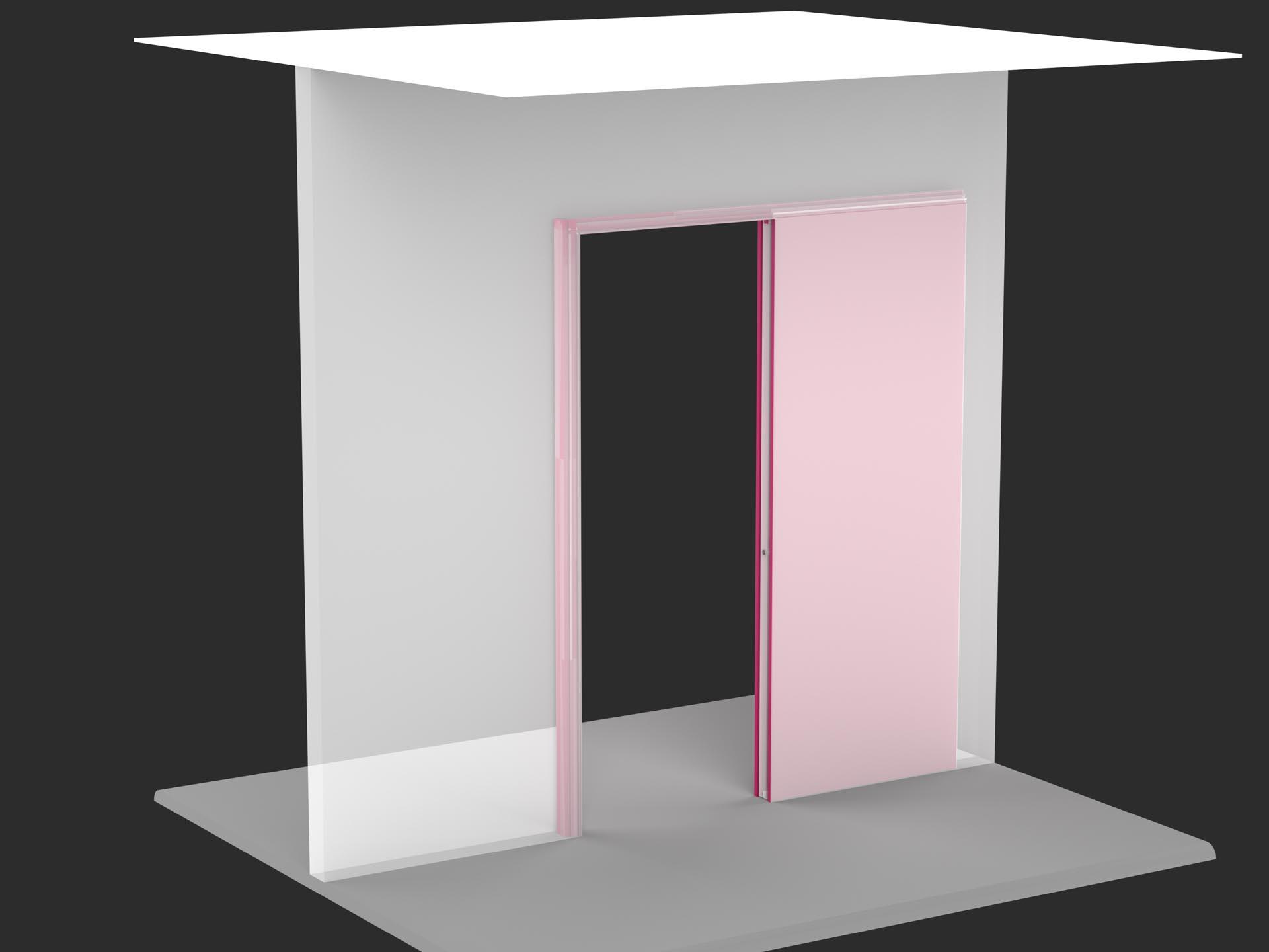 Montaggio porta scorrevole interno muro great come installare le porte interne guida alla posa - Montaggio porta scorrevole scrigno ...