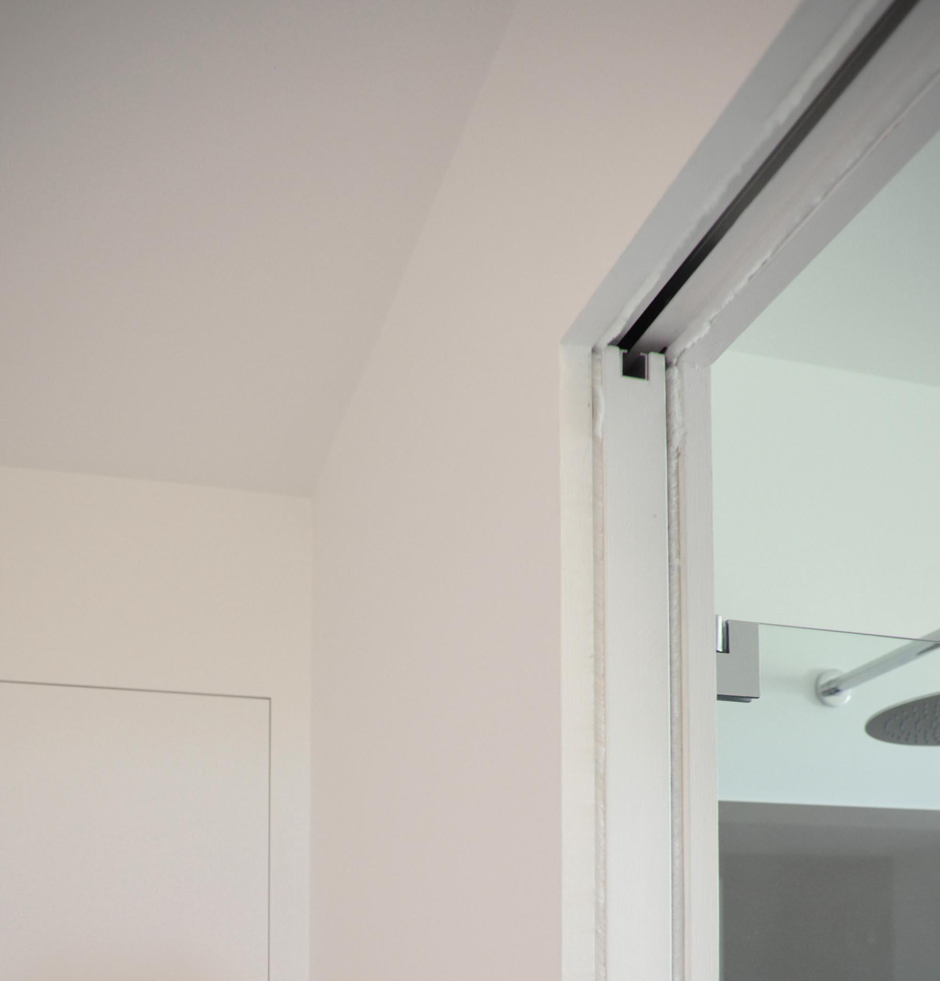 Montaggio porta scorrevole interno muro with montaggio - Montaggio porta scorrevole scrigno ...