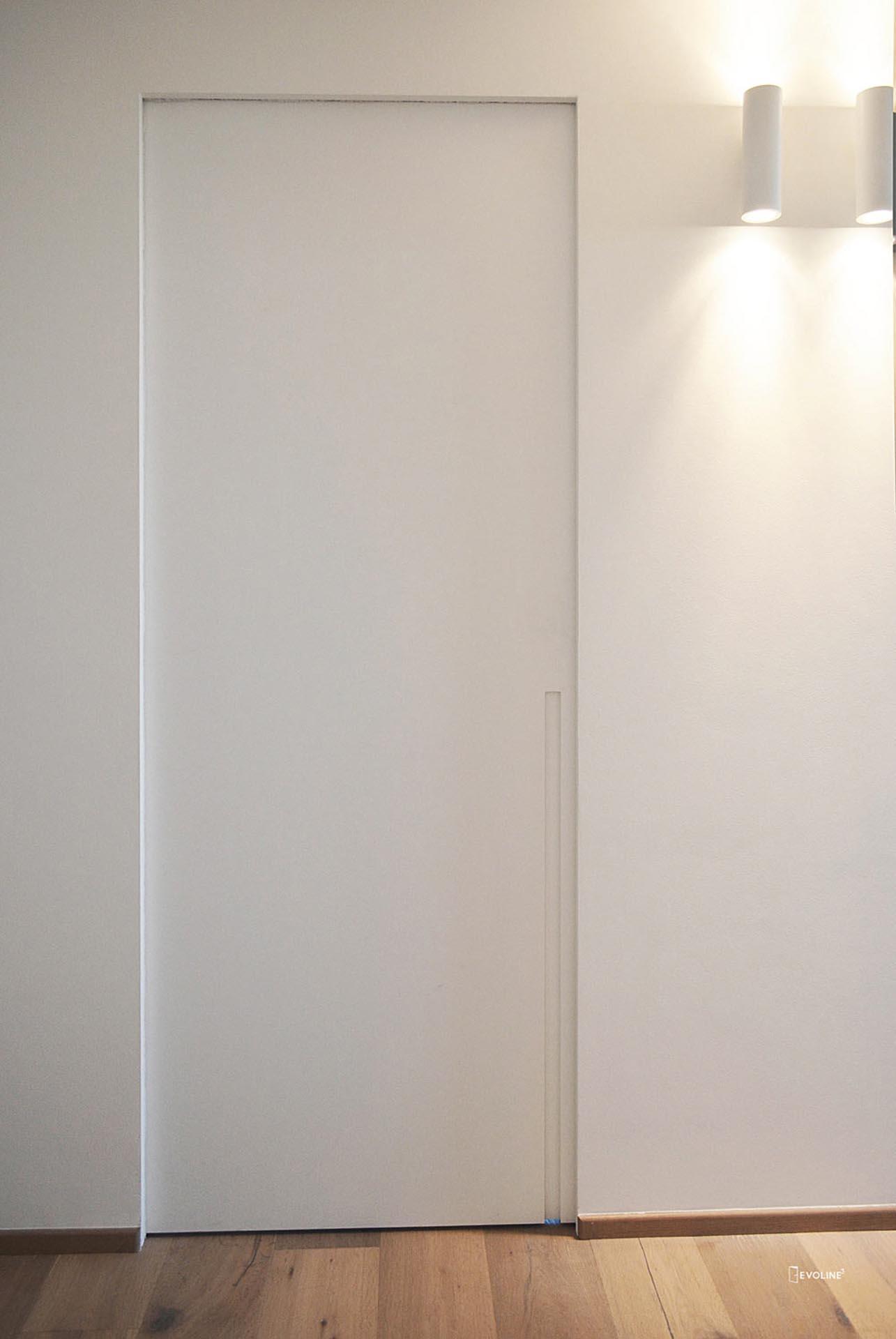 porta-scorrevole-interno-muro-maniglia-ricavata - Evoline3