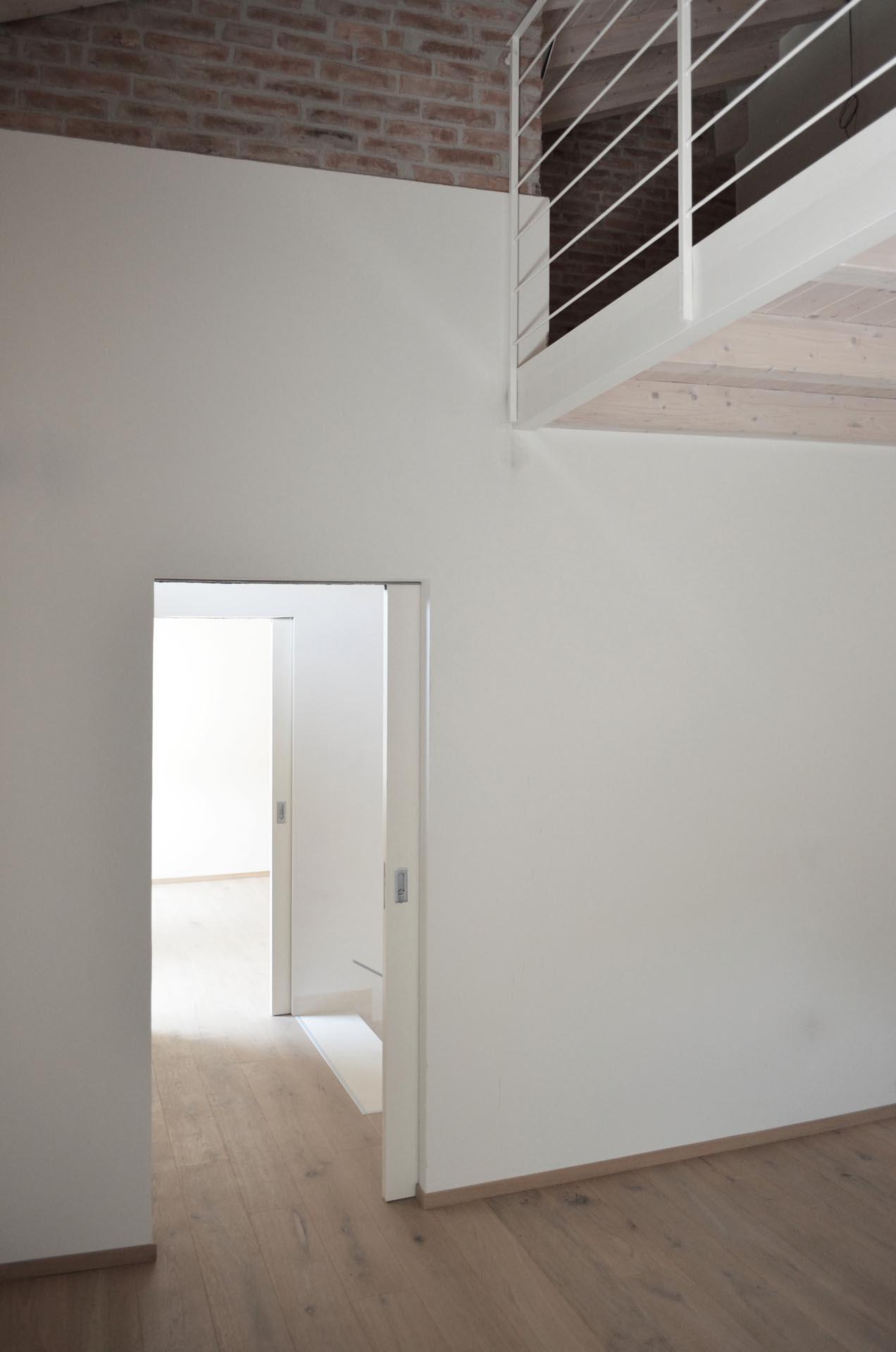 Porta scorrevole interno muro - Evoline3