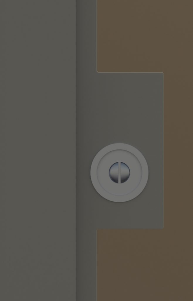 Porta scorrevole in vetro maniglia particolare maniglia h - Maniglia porta scorrevole ...