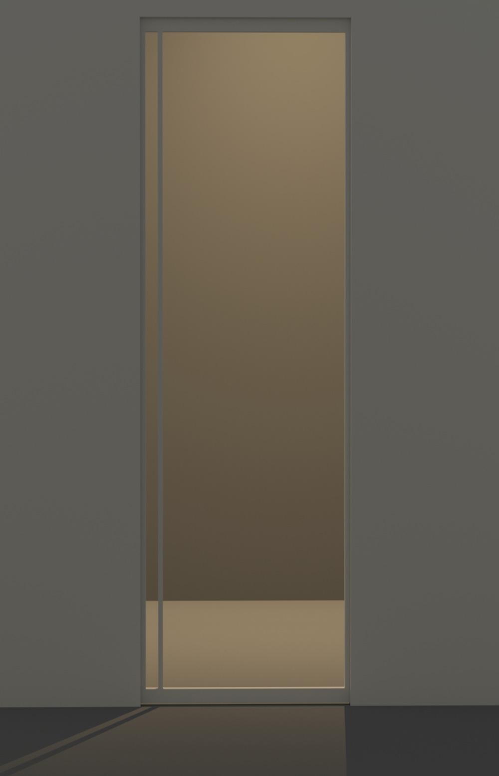 Porta scorrevole in vetro maniglia posizione g evoline3 - Maniglia porta scorrevole ...