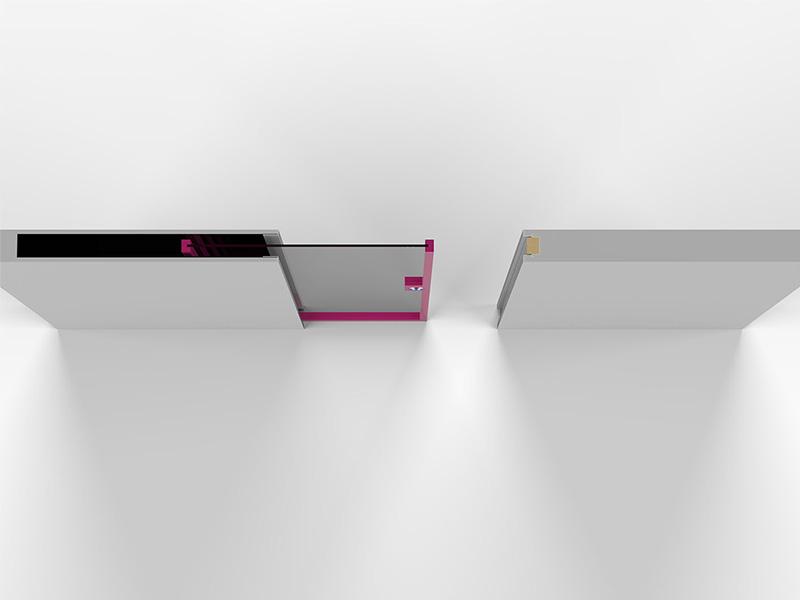 porta-scorrevole-interno-muro-vetro-posizione-1m-render - Evoline3