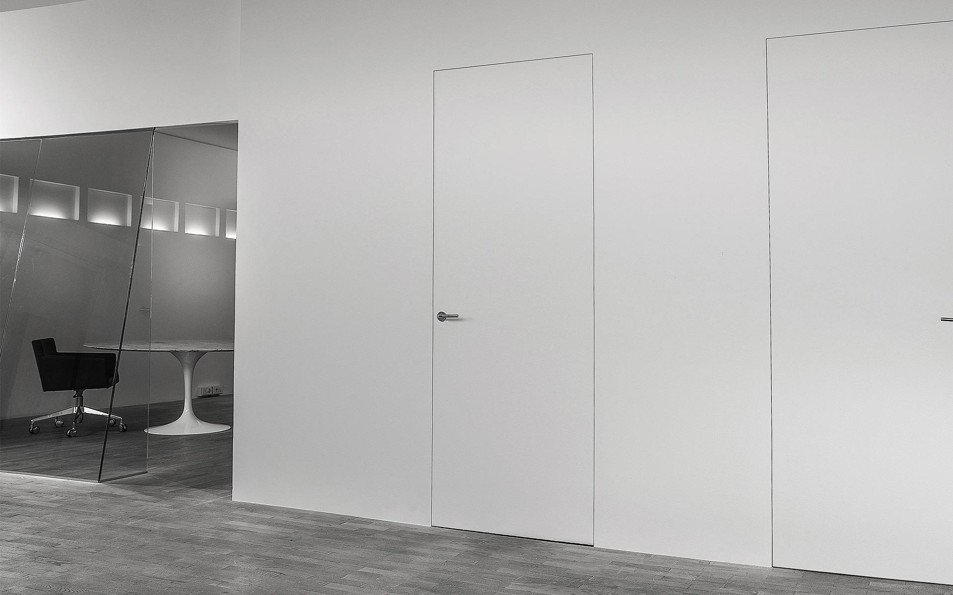 Porte invisibili filomuro o rasomuro in pronta consegna evoline3 - Porta a filo muro prezzi ...